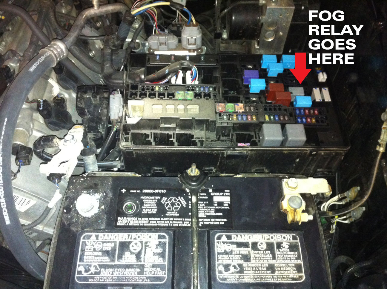 2010 Tundra Fuse Box Location Another Blog About Wiring Diagram 2003 Toyota Engine Compartment In Free Image